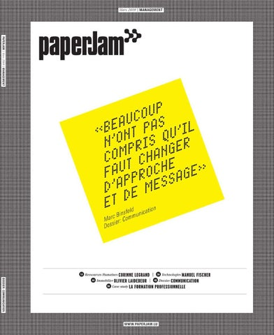 paperJam management mars 2009 by Maison Moderne - issuu 5b337573779