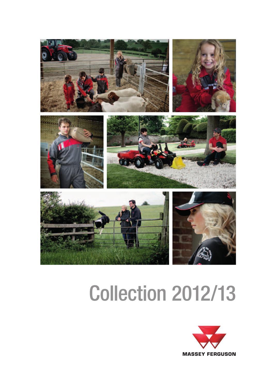 Massey Ferguson Clothing & Toys Brochure 2012-13 by