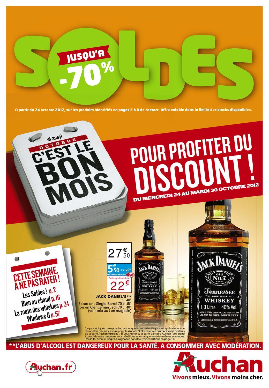 Carte Bancaire Auchan Gratuite.Auchan Catalogue 24 30 Octobre 2012 By Promocatalogues Com