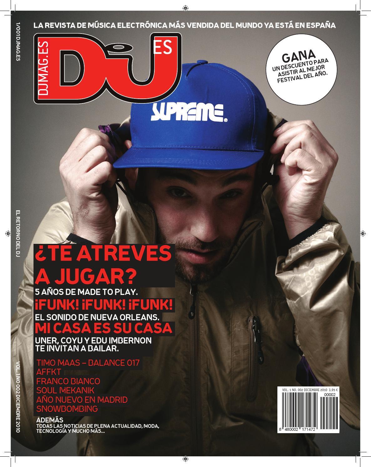 7b16378ae1 DJ Mag ES 002 Diciembre 2010 by DJ Mag España - issuu