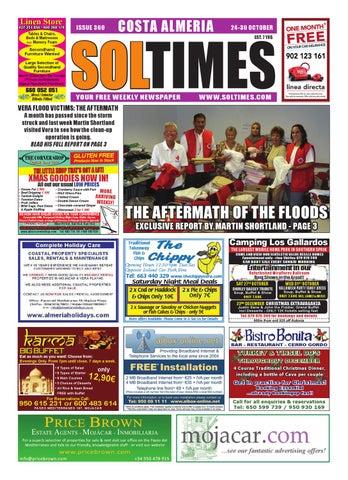 Sol Times Newspaper issue 360 Costa Almeria Edition