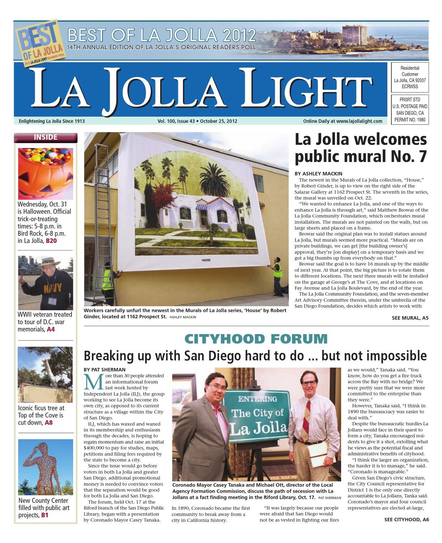 98f184160a 10-25-2012 La Jolla Light by MainStreet Media - issuu