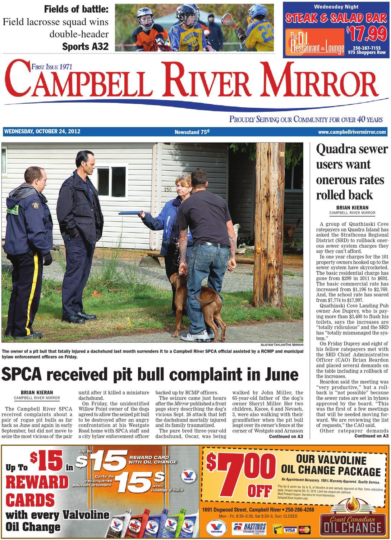 Campbell River Mirror October 24 2012 By Black Press