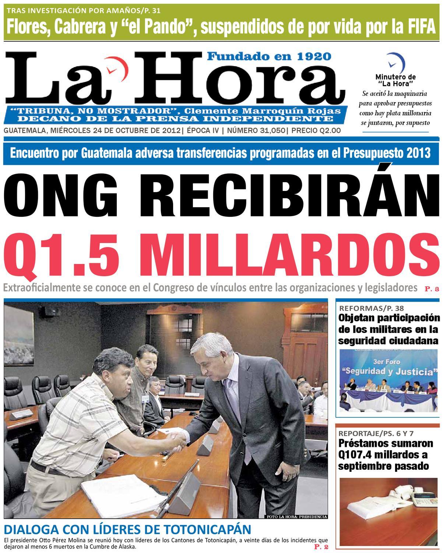 Diario La Hora 24-10-2012 by La Hora - issuu e11fbdef62eb5