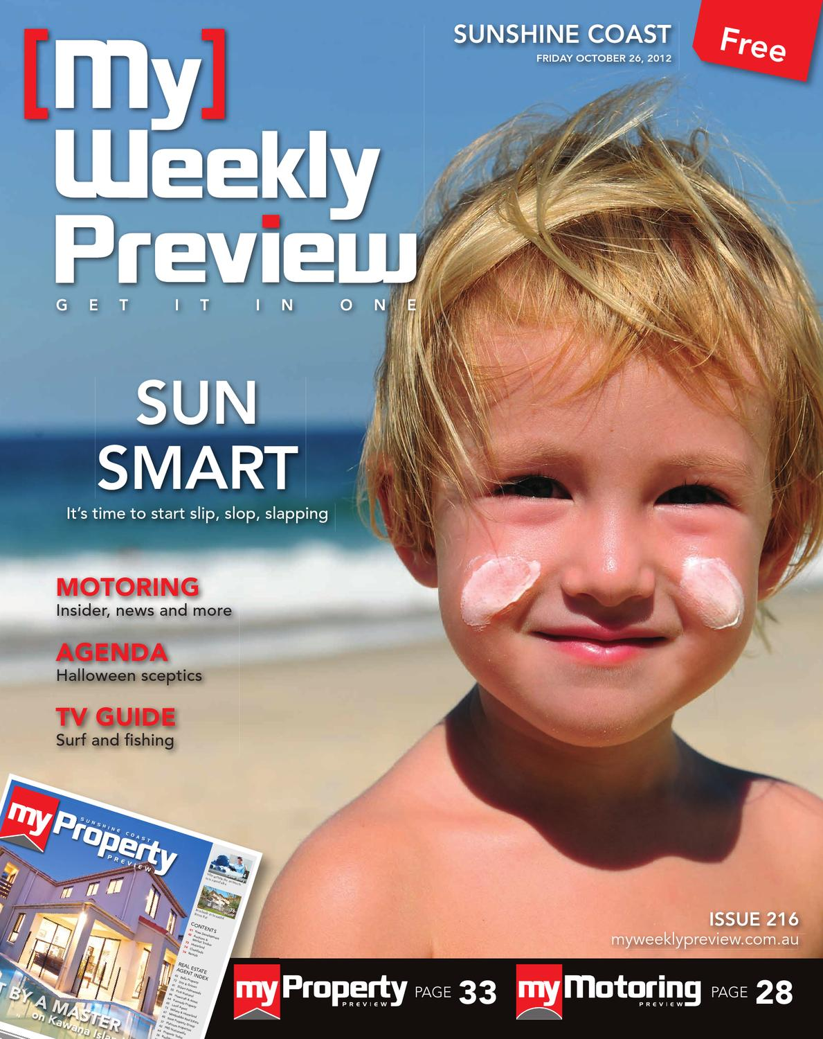 My Weekly Preview Issue 216 - October 26, 2012 by My Weekly