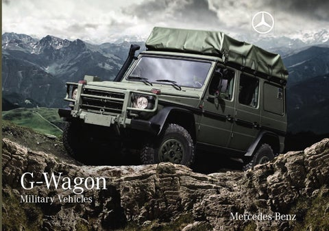 mercedes g 461 military 300cdi by canada g issuu. Black Bedroom Furniture Sets. Home Design Ideas