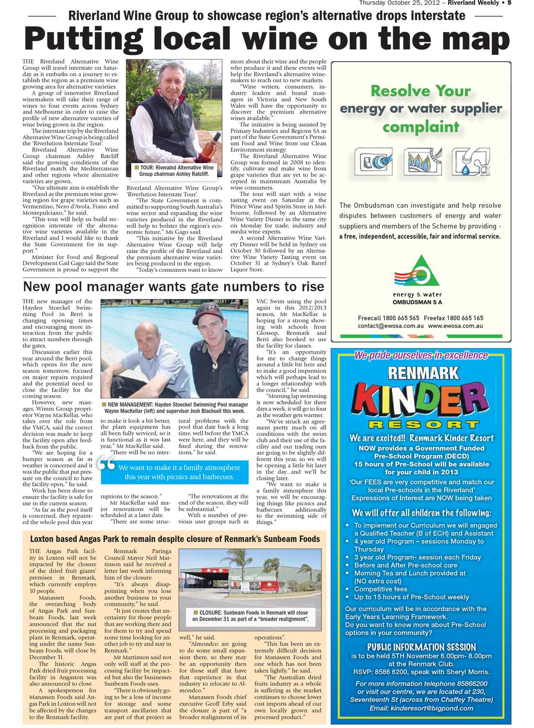 Riverland Weekly by Riverland Weekly - issuu