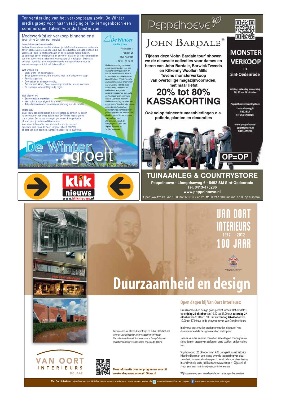 Weekblad regio \'s-Hertogenbosch by Uitgeverij Talvi - issuu