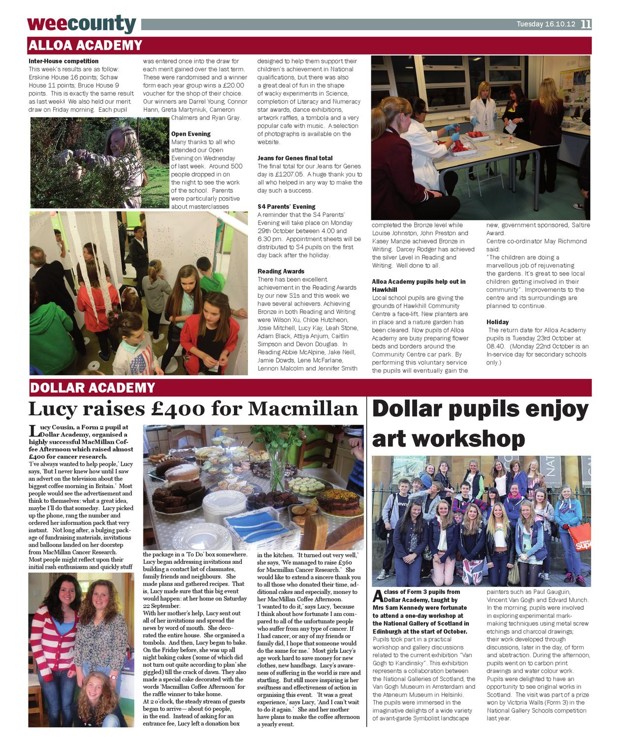 The Wee County News - Issue 898 by Vicki O'Hare - issuu