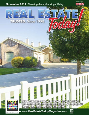 November Real Estate Today by Blip Printers issuu