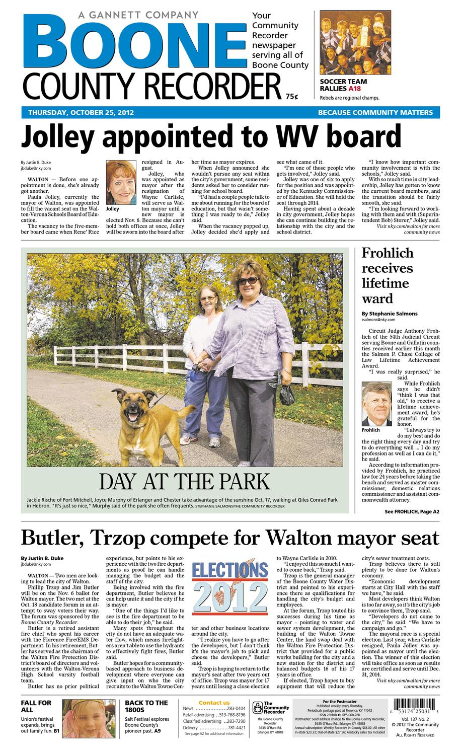 462b7ff0c8 boone-county-recorder-102512 by Enquirer Media - issuu