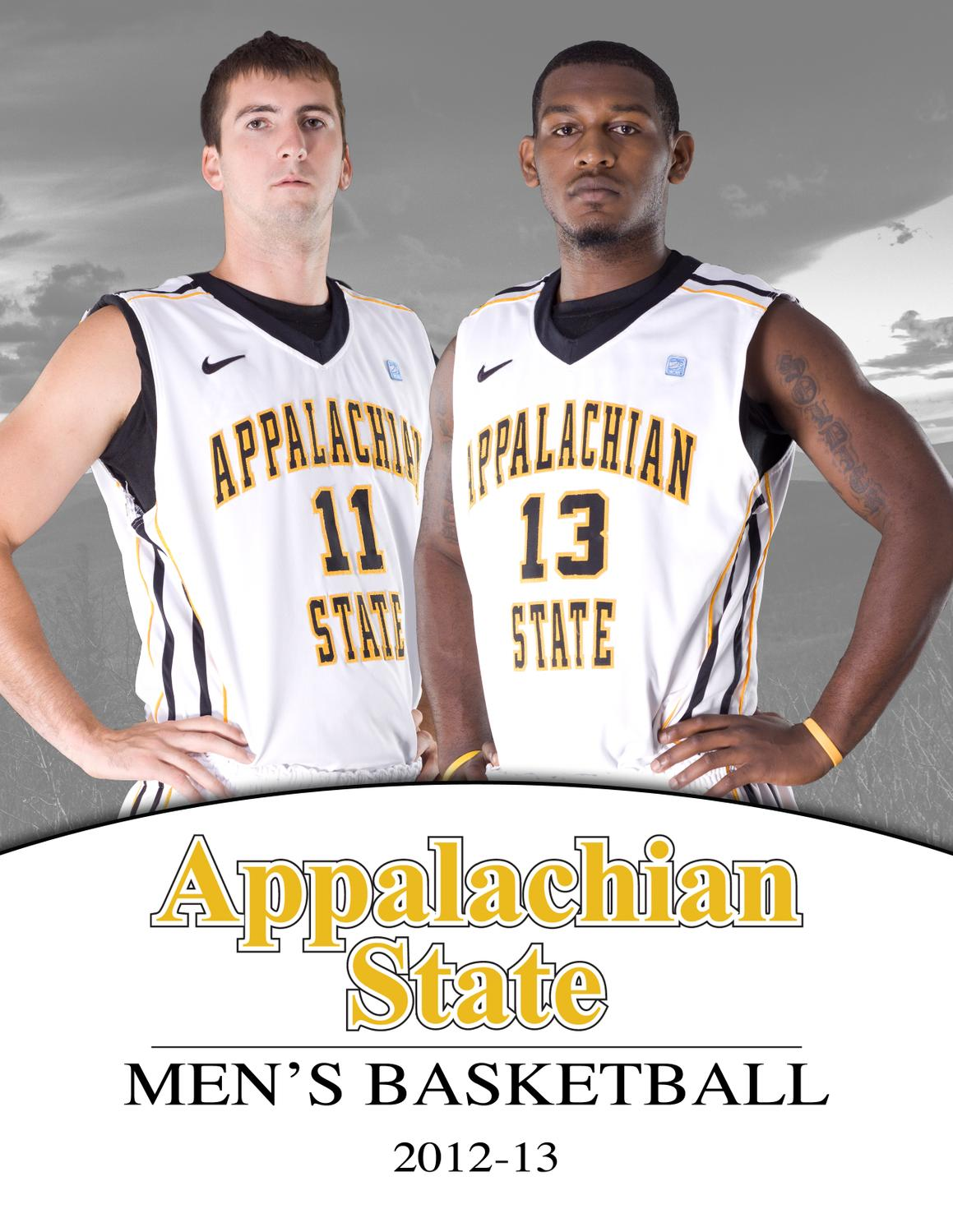 2012-13 Appalachian State Men's Basketball Yearbook by Appalachian State  University Athletics - issuu