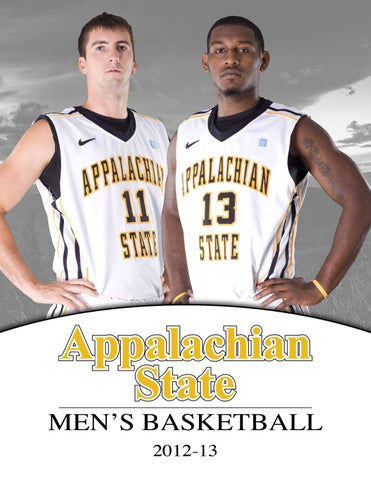 f26e5fa3331 2012-13 Appalachian State Men s Basketball Yearbook by Appalachian ...