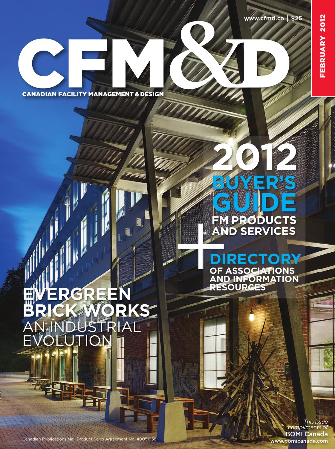 Canadian Facility Management & Design: 2012 Buyers Guide by