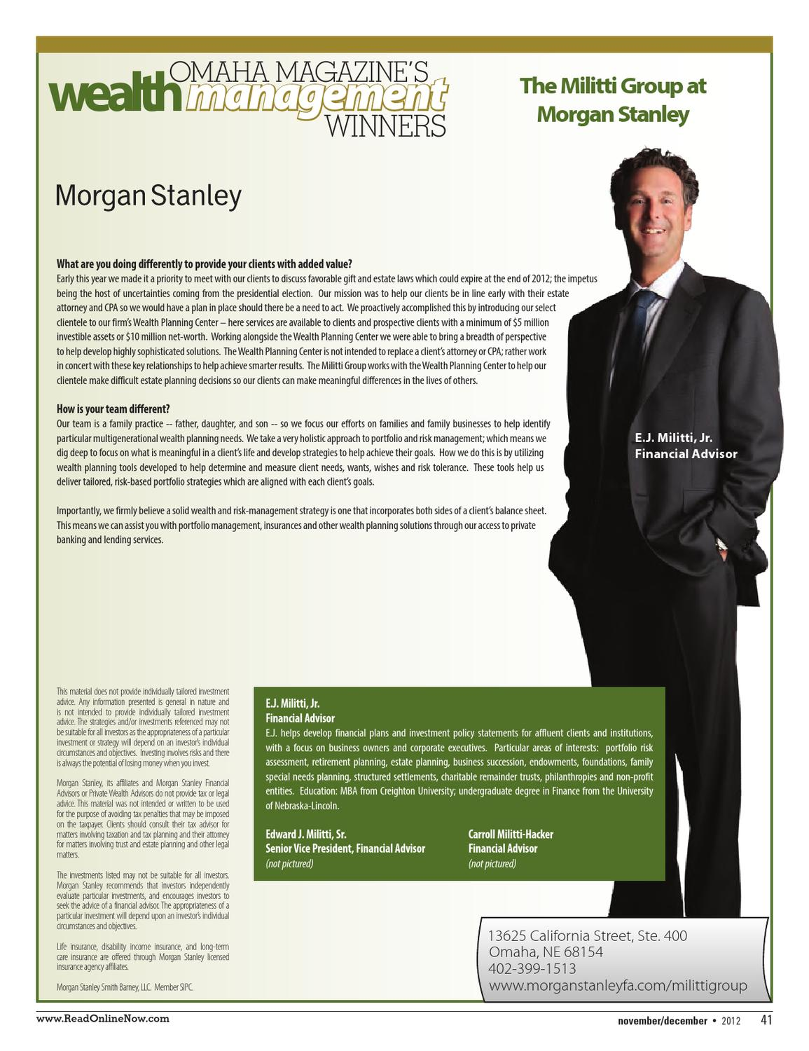 Morgan Stanley Private Client