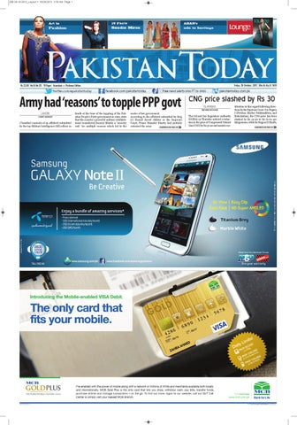 e-paper pakistantoday 26yj October, 2012 by Pakistan Today