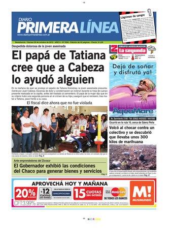 Primera Linea 3584 26-10-12 by Diario Primera Linea - issuu