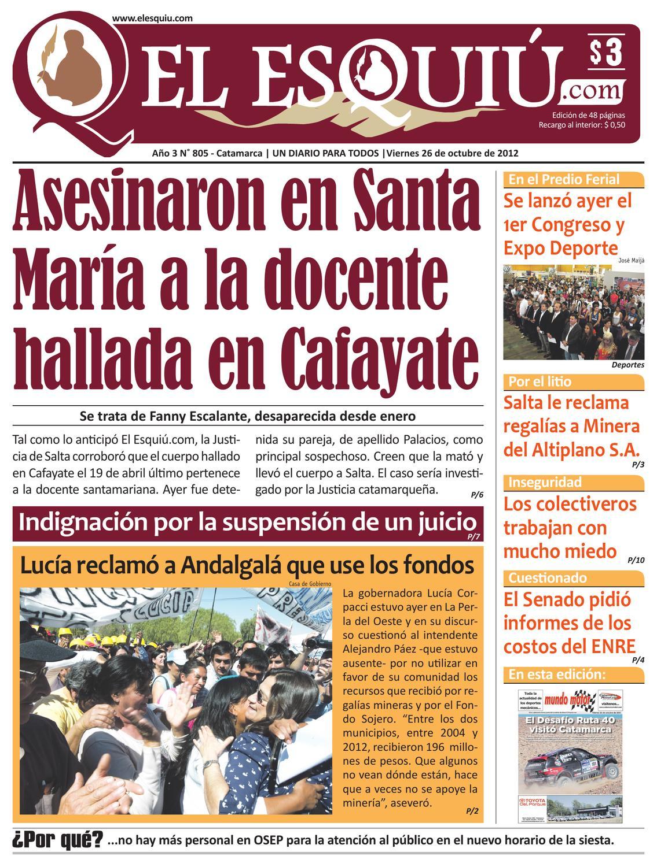 El Esquiu Com Viernes 26 De Octubre De 2012 By Editorial El Esqui  # Muebles Yoma Antofagasta