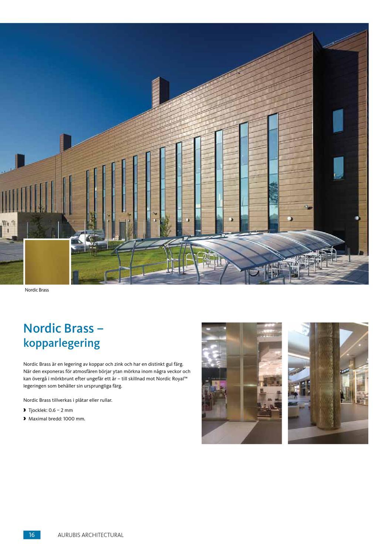 aurubis architectural swedish by aurubis finland oy issuu. Black Bedroom Furniture Sets. Home Design Ideas