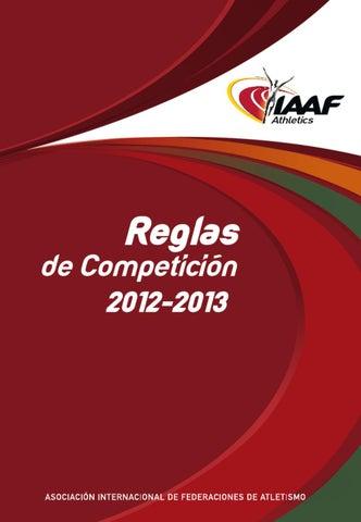 Reglamento Internacional Atletismo en español by Comite Galego ... 805f3f951df66