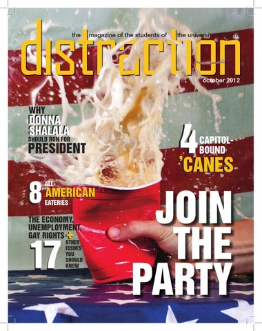 Distraction Magazine Election issue