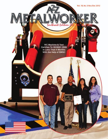 A2Z Metalkworker Magazine for the Southwest by A2Z Manufacturing
