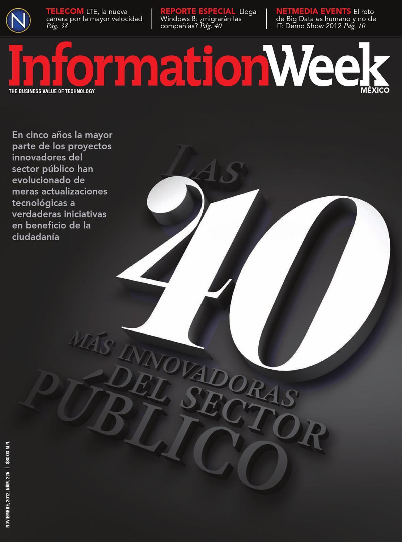 Informationweek México Noviembre 2012 By Netmedia Issuu