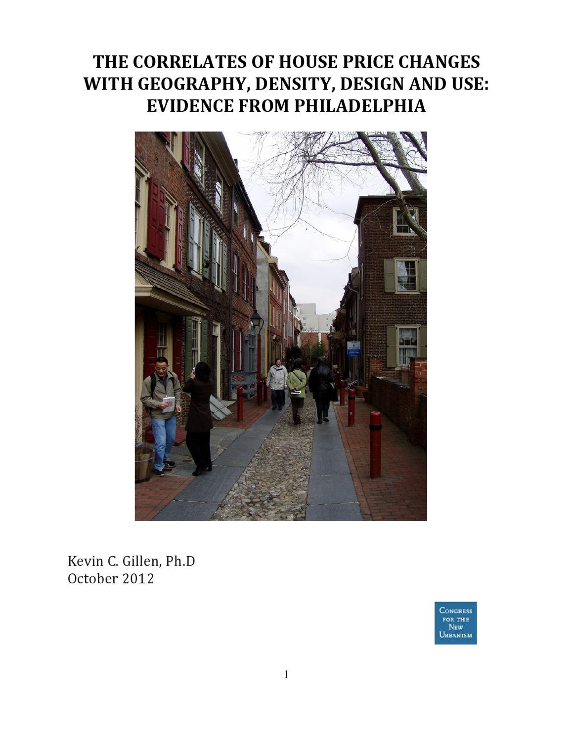 new urbanism research paper The case-study discussed in this report explores these questions  new  urbanism (nu) is a movement in architecture and urban planning that emerged to.