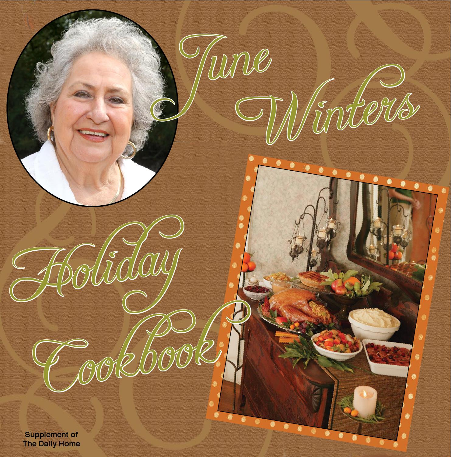 42eff77b8 June Winters' Holiday Cookbook by Consolidated Publishing Co. - issuu