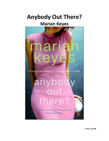 93302eebd07c2 Anybody Out There by Marian Keyes by Manu Stos - issuu