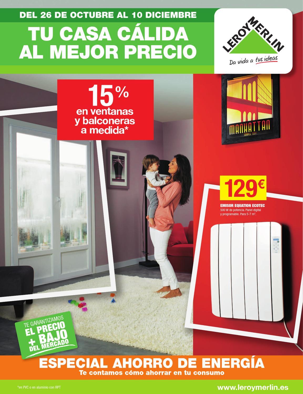 Catalogo leroy merlin calefaccion by - Precios de radiadores de agua ...