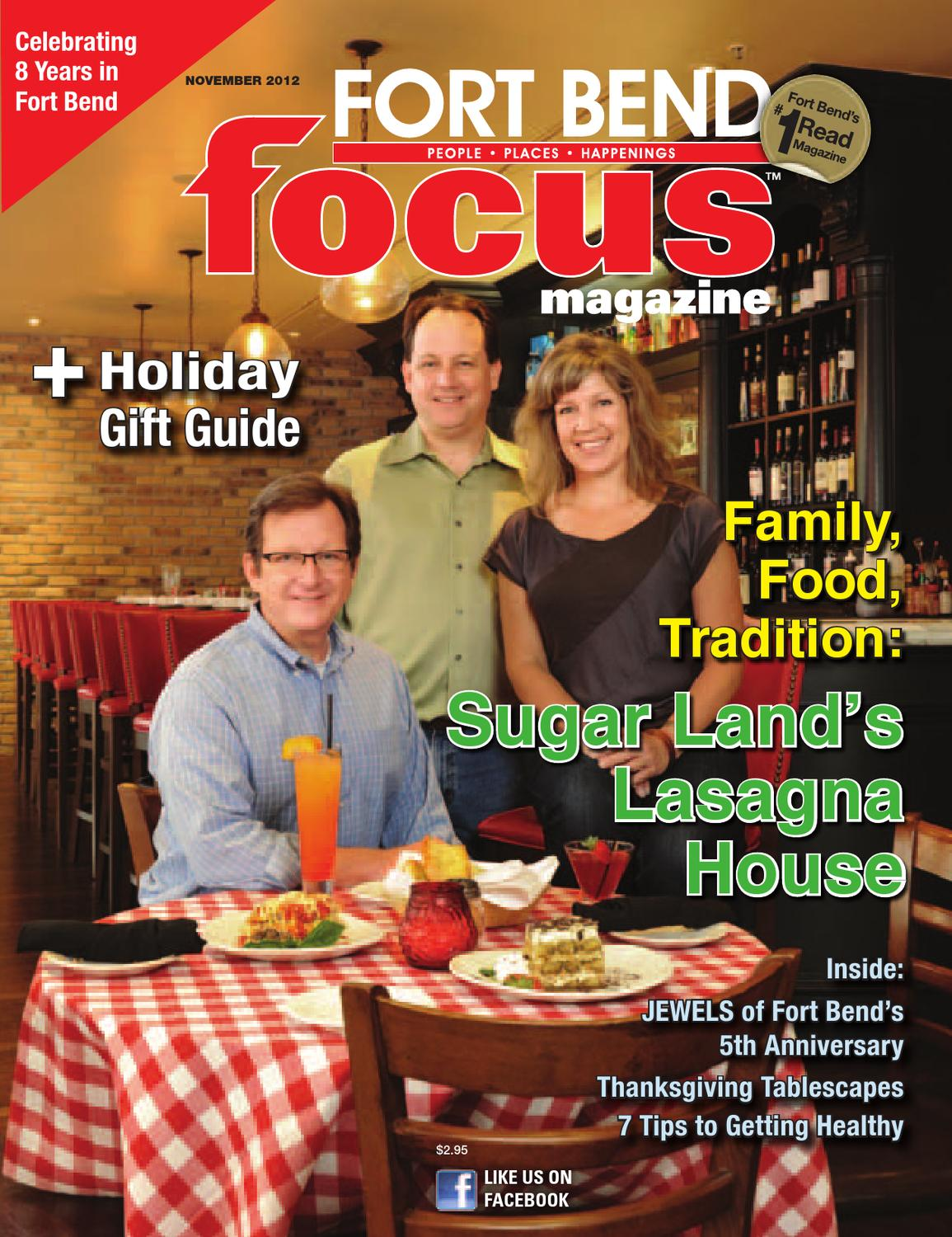 November 2012 - Fort Bend Focus Magazine - People • Places