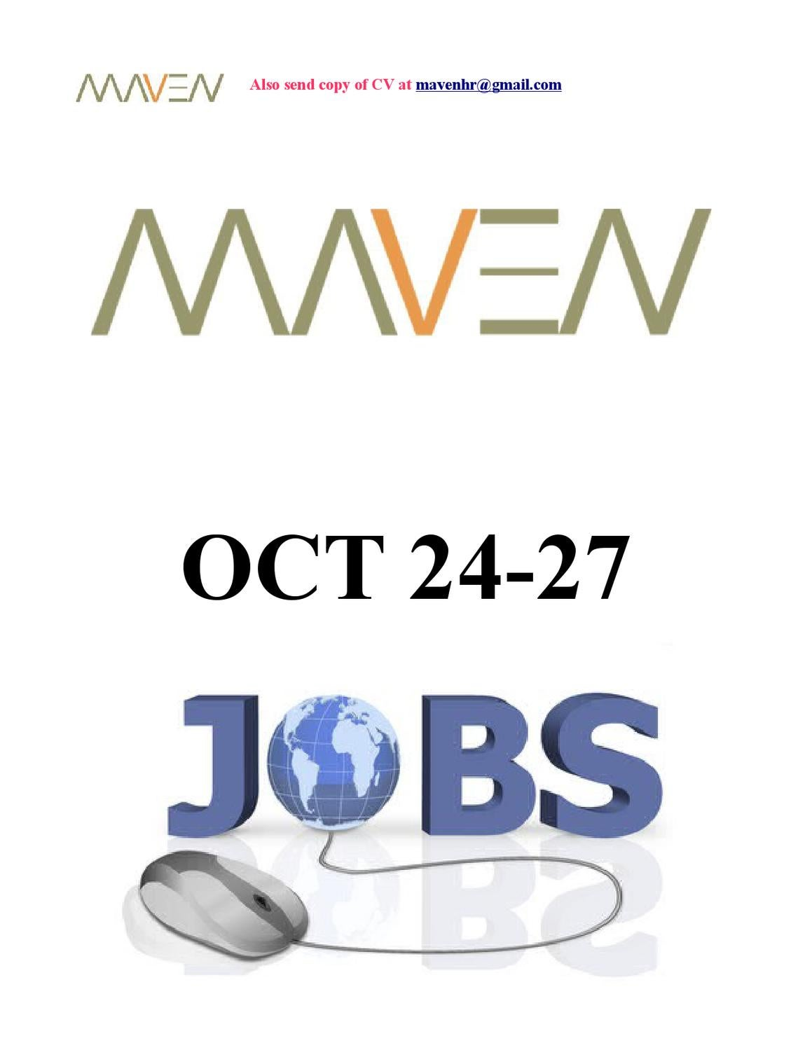 Maven Jobs Oct 24 To 27 By Hr Issuu Block Diagram Sbd Power Substation Control Ticom