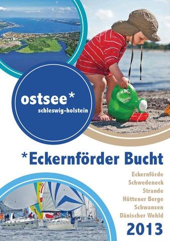 Gastgeberverzeichnis Eckernforder Bucht 2013 By Ostsee Holstein