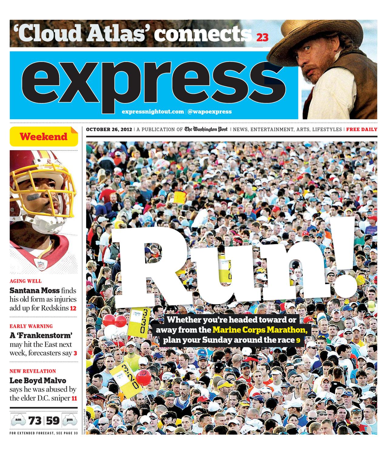 Express 10262012 By Express Issuu