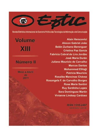 Revistacompleta v13 n2 by eptic portal issuu page 1 fandeluxe Choice Image