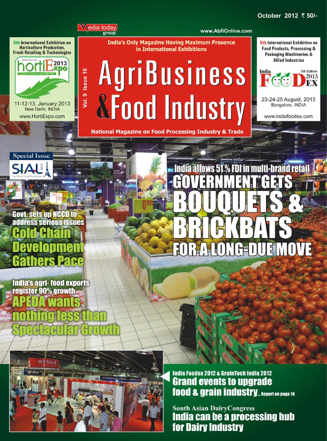 AGRI BUSINESS & FOOD INDUSTRY by Media Today Pvt  Ltd  - issuu