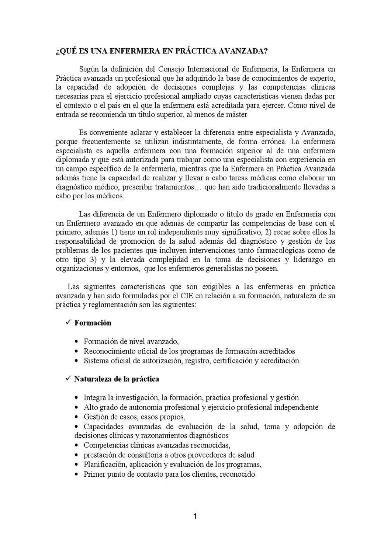 Modelos de Práctica Enfermera: Enfermería Práctica Avanzada by david ...