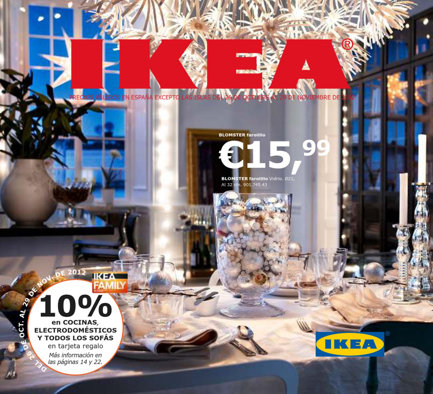Catalogo ikea decoracion de navidad 2012 2013 by for Jaulas decoracion ikea