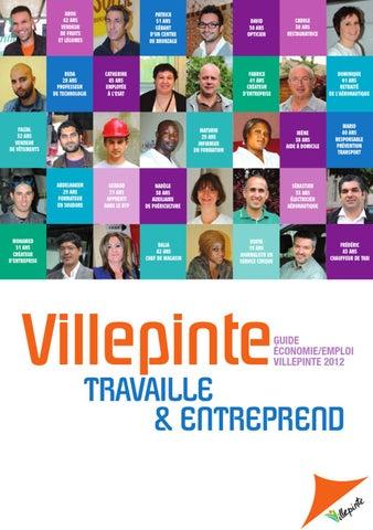 Villepinte Travaille Et Entreprend Guide Economie Emploi 2012 By