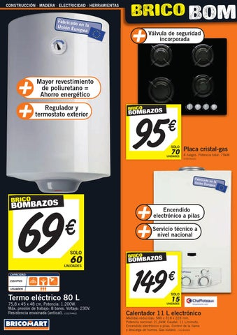 Catalogo bricomart noviembre 2012 calefaccion by - Termo electrico bricomart ...