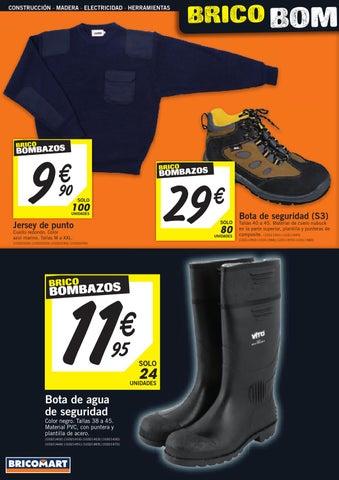 Catalogo bricomart noviembre 2012 calefaccion by for Calzado de seguridad bricomart