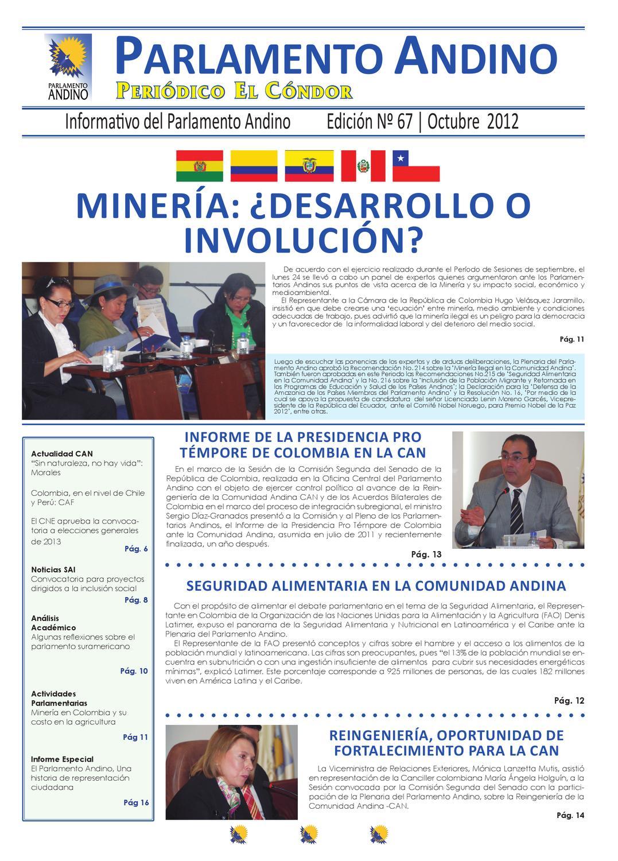 Periódico El Cóndor, edición #67 by Revista El Cóndor - issuu
