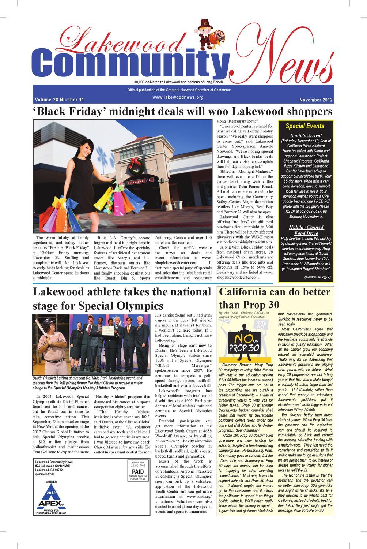 Lakewood Community News by Lakewood Community News - issuu