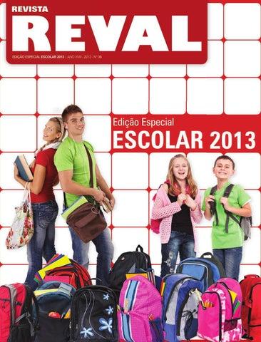 aec378bce Catálogo Reval Escolar 2013 by Reval Atacado de Papelaria Ltda. - issuu