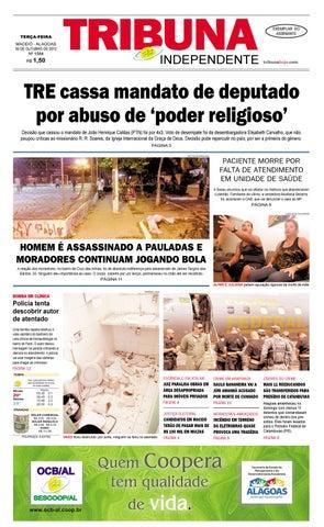 Edição número 1584 - 30 de outubro de 2012 by Tribuna Hoje - issuu a30c051dcf14e