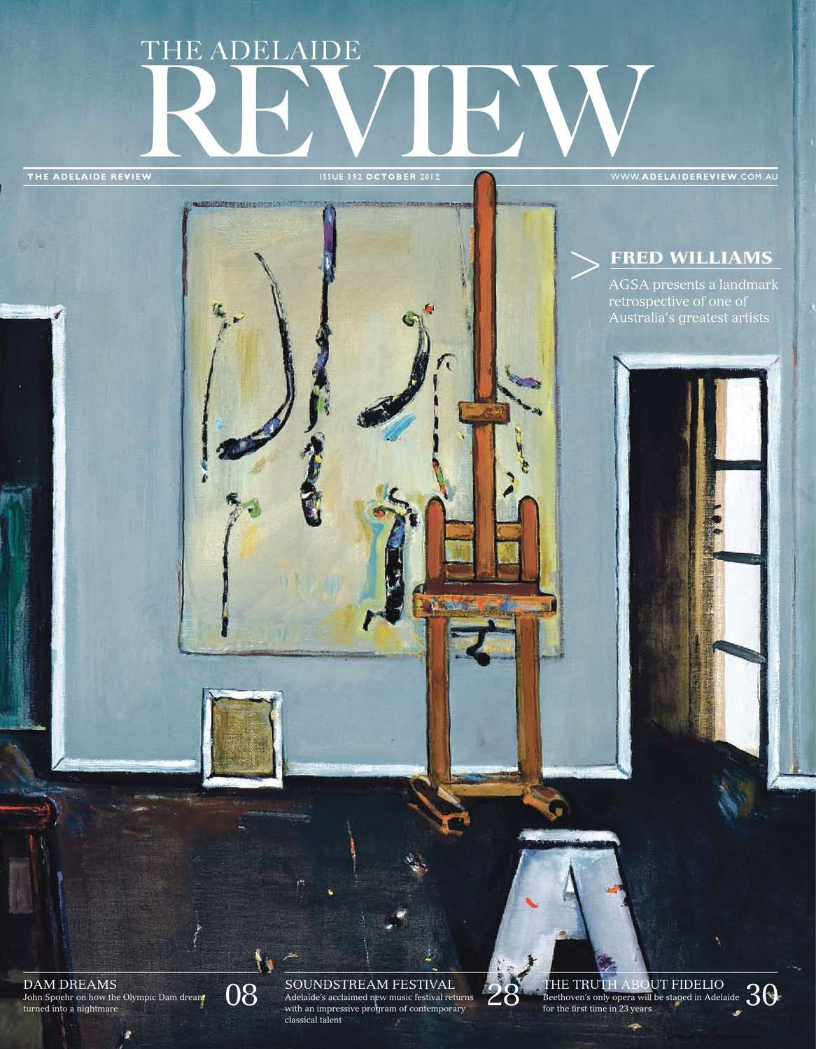 The Adelaide Review October 2012 by The Adelaide Review - issuu