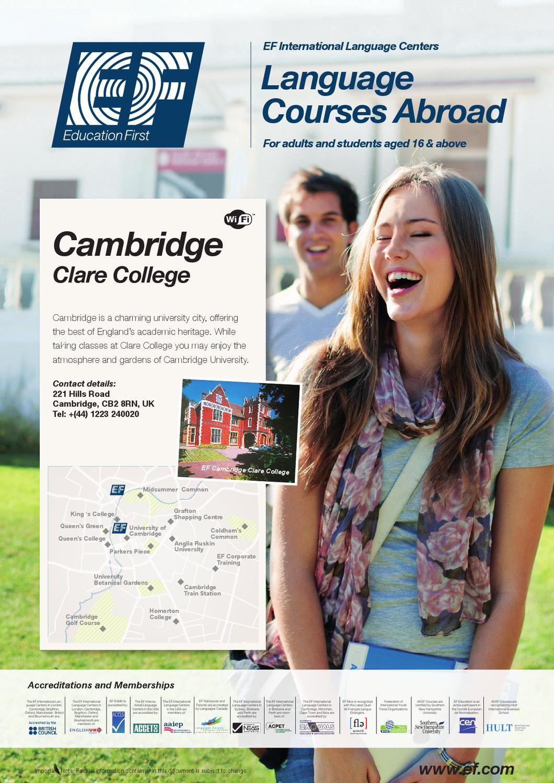 Predeparture Cambridge Clare College ILS 2012 by EF