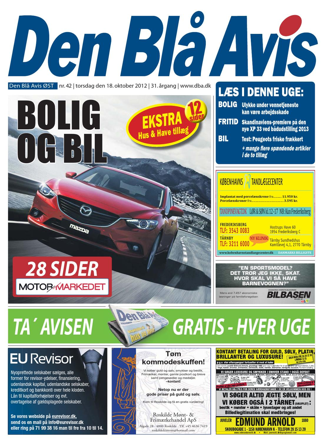 4f64067ab700 Den Blå Avis - ØST - 42-2012 by Grafik DBA - issuu
