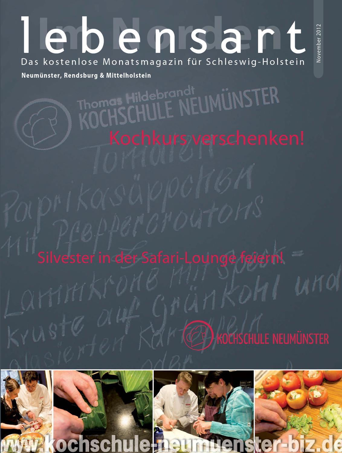 Lebensart im Norden, Neumünster, November 2012 by Verlagskontor ...
